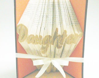 Daughter Book Folding Pattern with Tutorial 602 pages required DIY Make your own Gift- Please read Listing PDF File Only
