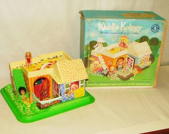 Vintage Liddle Kiddle Colony By Mattel With Box 1967 *******1960's***************
