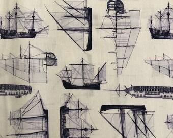 Quarter Deck Ship Print by Clothworks