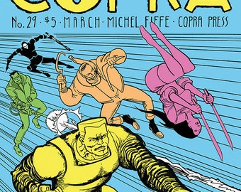 COPRA 29, Limited Edition Comic Book Series