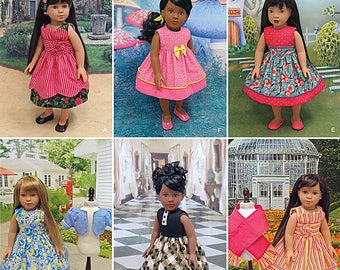 """Simplicity Sewing Pattern 1220 18"""" Doll Clothes"""