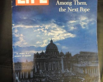 Life Magazine June 14 1963 St. Peters, Great Princes of The Church