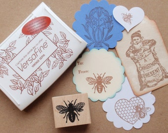 Sepia Brown Ink Pad - Versafine by Tsukineko - Full sized  - The BEST ink for Detailed Rubber Stamps says Blossom Stamps