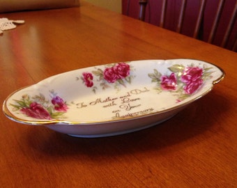 Nice Norcrest Anniversary Bowl/Tray