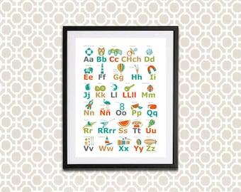 Spanish Alphabet - Language Education
