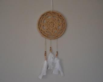 Keepsake Crocheted Dream Catcher Made From Your Pet's Fur/Hair - Dog, Cat, Rabbit, Ferret