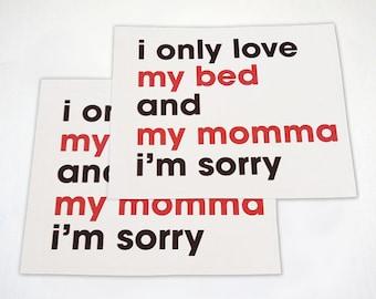 Mother's Day Sticker Pack  - 4 Pack Sticker Set