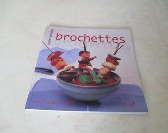 Book recipes skewers