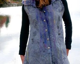 3-D Nuno Felt Vest PDF TUTORIAL garment construction
