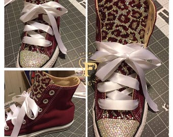 Bling Out Hi-Top Converse