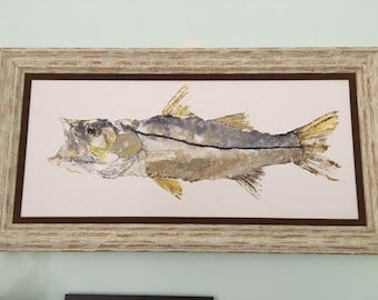 snook painting (no frame available)
