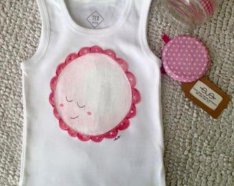 Illustrations children in fabric