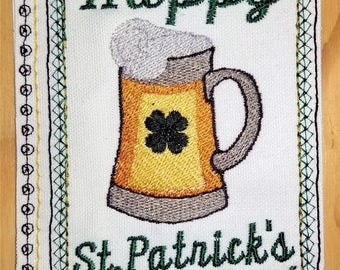 Embroidery Greeting Cards by DiElobi – St. Patrick's Day #4