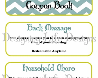 I Love You Coupon Book - Perfect for a Birthday, Anniversary, or Special Occasion