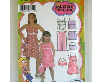 Simplicity Pattern 5083 - Lizzie McGuire - Uncut - 2 Patterns Avail - Sizes 3 thru 14