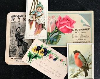 Vintage Prayer Cards