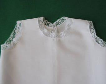 White cotton shroud