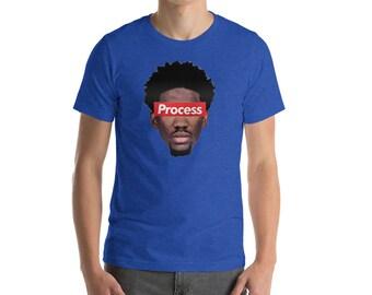 Trust The Process Joel Embiid Philadelphia 76ers Fan T-Shirt