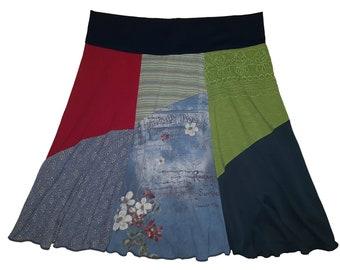 Plus Size Skirt 2X 3X Upcycled Skirt Boho Clothing Hippie Skirt Women's size 22 24 26 Best Selling Skirts Trendy Twinkle Skirts Twinklewear