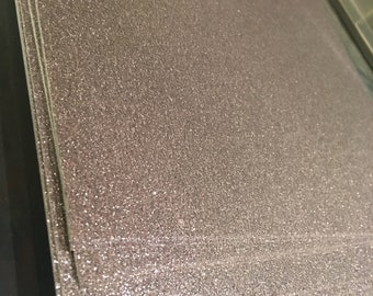 34 pieces total Silver Glitter Cardstock AND Silver Holographic 12 x 12 inches. cardstock arts paper crafts supplies scrapbook scrap booking