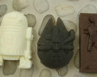 Star Wars Soap Collection No. 4 - Bounty Hunter's Prize, The Millennium Falcon & Artoo