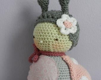 Crocheted Ladybug/Stuffed Ladybug/Easter Gift/Valentines Day/Baby Keepsake