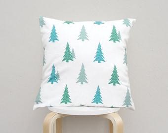 Green Tree pillow case