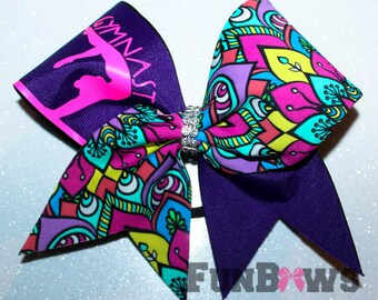 Gymnast Bow - From our new Gymnast line of bows - by FunBows !