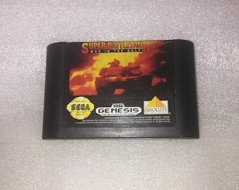 Sega Genesis Super Battletank War in the Gulf