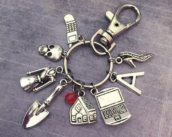 Little Liars Inspired Fandom Keychain or Bag clip