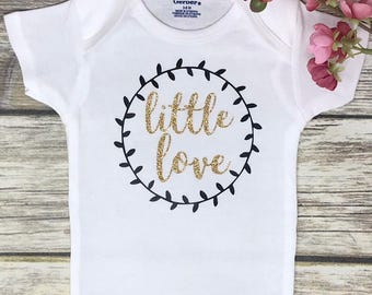 Little Love Baby Onesie | Baby Girl Onesie | Baby Girl BodySuit