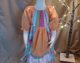 Homemade Toddler Dress/Matilda Jane Style Dress/Girl's Dress