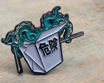 Killer Dish Enamel Pin Badge | Pin Badges | Lapel Pin