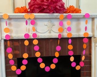 You are My sunshine Birthday Decorations - Birthday Decorations Girl - Pink and Orange Kids Birthday Decor - Sunshine Baby Shower Decor