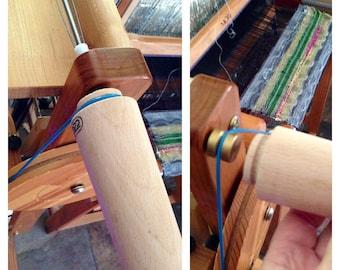 Saori CONE winder adapter and empty cones  slips right on your Saori bobbin winder comes with 3 empty cones : saorisantacruz
