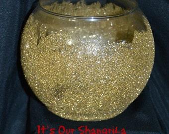 Glittered Candle Holder ~ Flower Vase ~ Wedding Center Piece