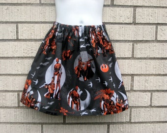Star Wars Rouge One skirt in Charcoal grey, sizes size 6 Months - 7 years