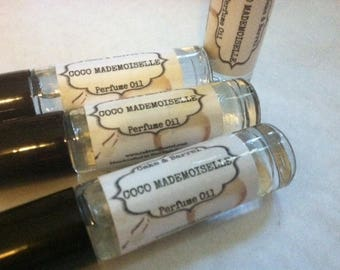 Coco Mademoiselle Perfume Oil. 10ml Roll On Bottle. Chanel Type.