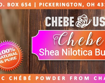 Chebe Shea Nilotica Butter Authentic Chebe From Chad and Luxurious Shea Nilotica from East Africa. - Good bye dry hair - Hello Flawless!