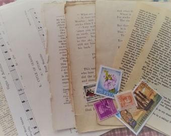 Vintage Paper Ephemera Packet