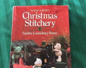 Scrap Savers Christmas Stitchery, Sandra Lounsbury Foose