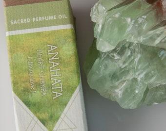 Anahata // Heart Chakra // Botanic Perfume // Ritual Wear