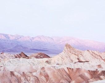 Dawn at Death Valley, Zabriskie Point