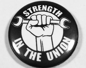 Stregth in the Union 1 Inch Button