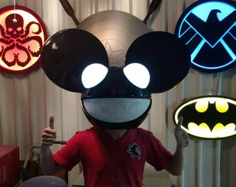DEADMAU5 Mask Lighted Eyes