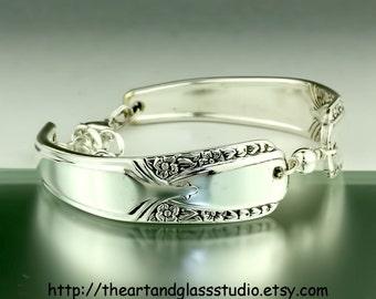 Silver Spoon Bracelet TALISMAN Jewelry Vintage, Silverware, Gift, Anniversary, Wedding, Birthday