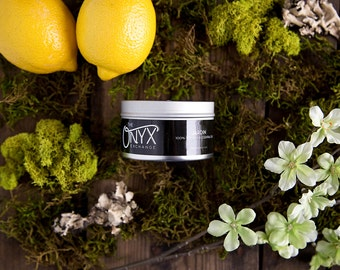 Jardin - Lemon Scented - 4 oz. Tin Soy Wax & Essential Oil Candle