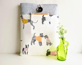 Dogs Laptop Case MacBook Case MacBook Pro Case MacBook Air Case Padded with Pocket