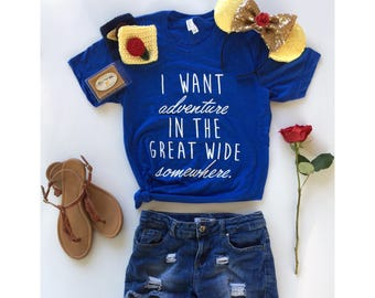 June 30th Shipping//Disney Princess Shirt//Belle//Disney Shirts//Disney Shirt//Beauty and the Beast Shirt//Unisex Adult Shirt//