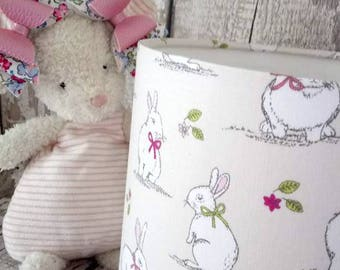 white Bunny Lampshade